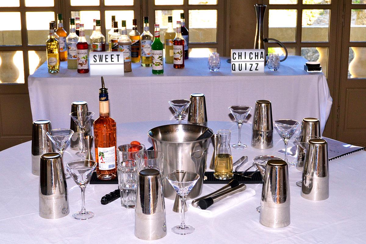Organisation d'une animation de soirée soirée gastronomie pour entreprise : Atelier création de cocktails - image 1