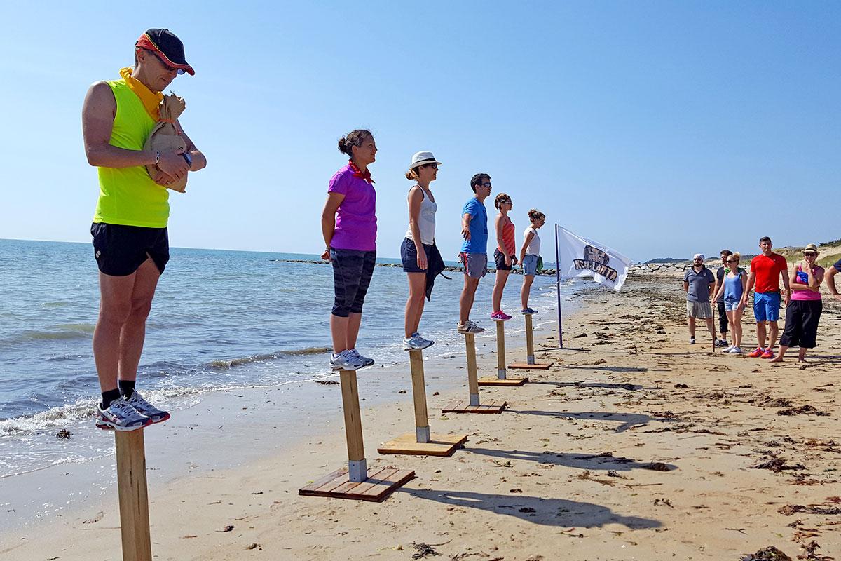 """Organisation d'un team building olympiades pour entreprise : Challenge façon """"Koh Lanta"""" - image 1"""