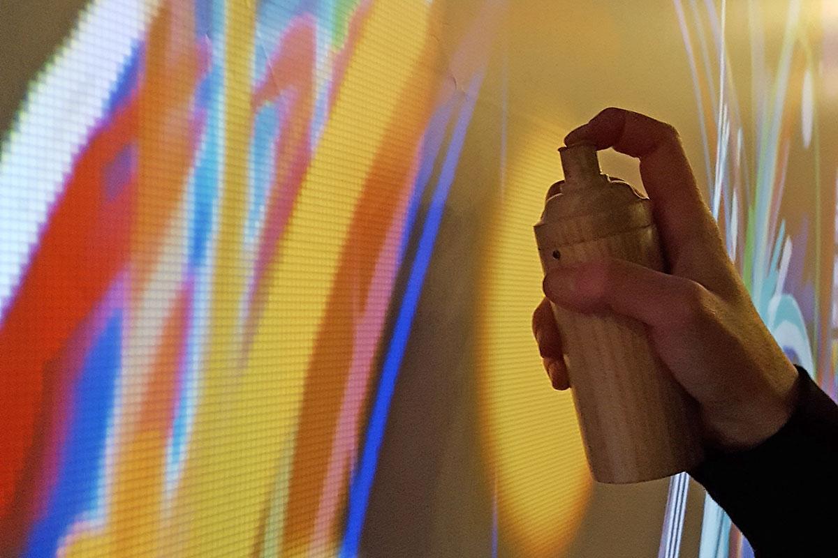 Organisation d'une animation de soirée soirée artistique pour entreprise : Graff numérique - image 1