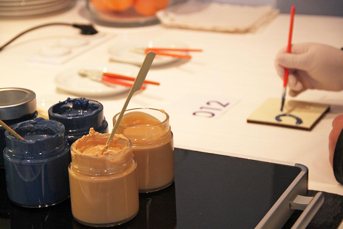 Organisation d'une animation de soirée soirée gastronomie pour entreprise : Tableau en chocolat - image 3